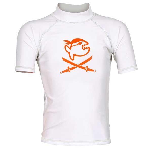 [해외]iQ-Company UV 300 Shirt Kids Jolly Fish 589631 White