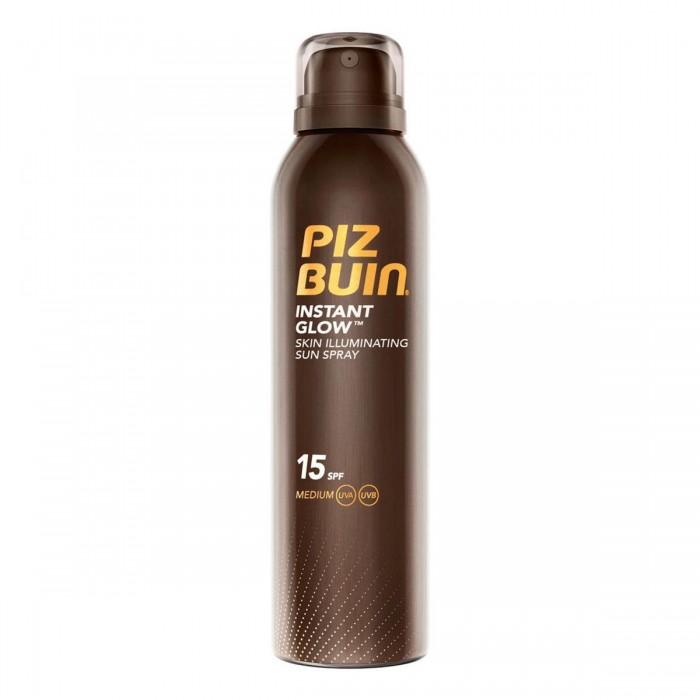 [해외]PIZ BUIN FRAGRANCES Instant 글로우 Skin Illuminating 썬 Spray Spf15 150ml