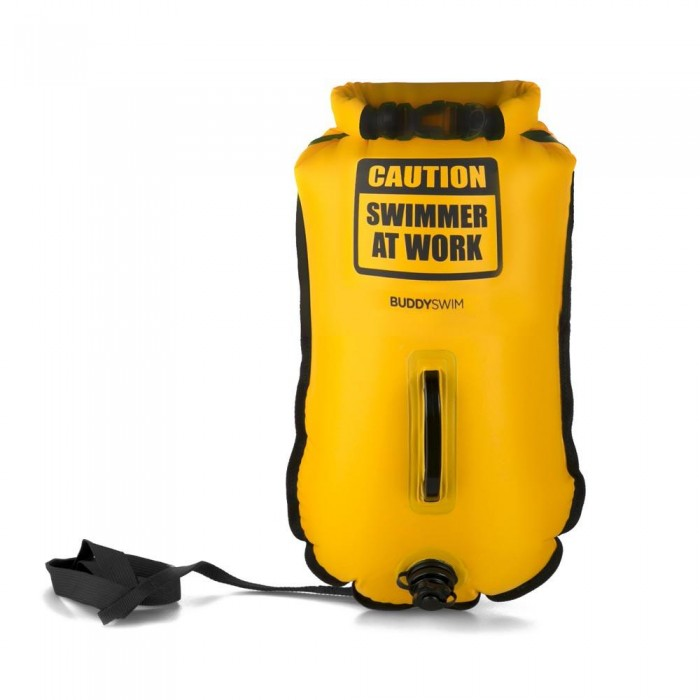 [해외]BUDDYSWIM Drybag Caution Swimmer At Work 20L 6136764772 Yellow