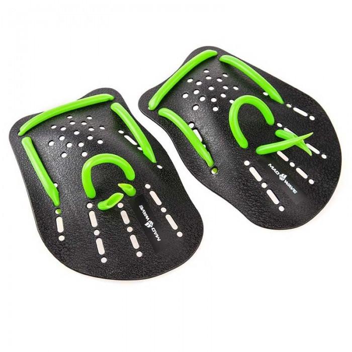 [해외]매드웨이브 Mad Wave Paddles Black / Green