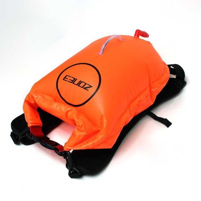 [해외]ZONE3 Swim Run Backpack Dry Bag Buoy 28L 6136719982 Orange