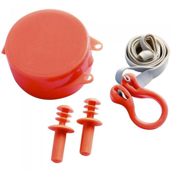 [해외]살비마 Wavi 노se Clip 앤드 Ear Plugs Kit Junior Red