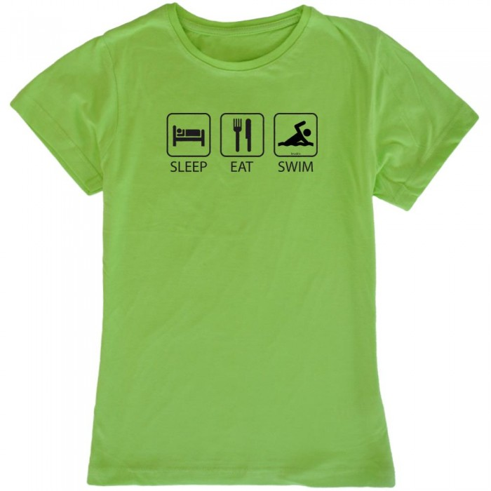 [해외]KRUSKIS Sleep Eat And 스윔 Light Green