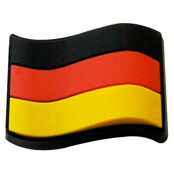 [해외]JIBBITZ Germany Flag 12 Black / Red / Yellow