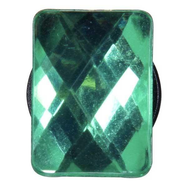 [해외]JIBBITZ Gemrectangle Sml Green