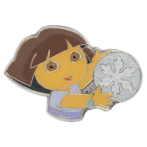 [해외]JIBBITZ Dora Snowflake 글리터 Card Grey