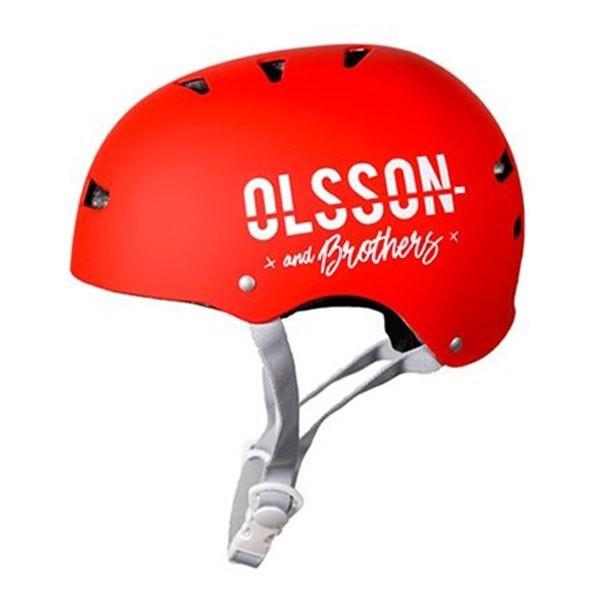 [해외]OLSSON Helmet Size M/L Child 14137214711 Red
