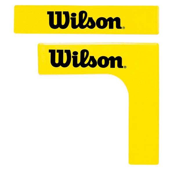 [해외]윌슨 테니스 코트 라인s 16 Units Yellow / Black