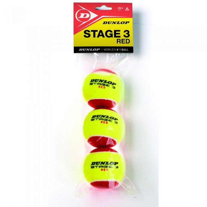 [해외]던롭 Stage 3 Bag 12137061113 Yellow / Red