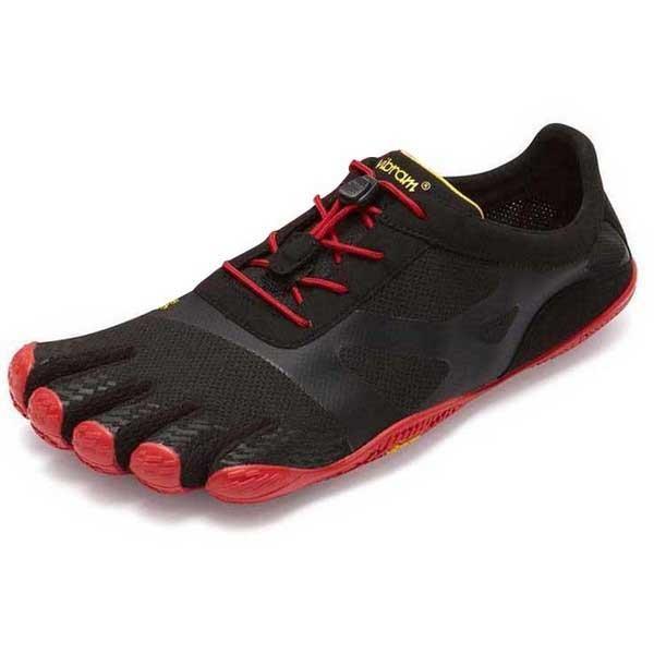 [해외]비브람 FIVEFINGERS KSO EVO 6136790722 Black / Red