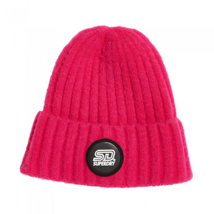 [해외]슈퍼드라이 Super Chunky Ribbed 137239743 Berry Pink