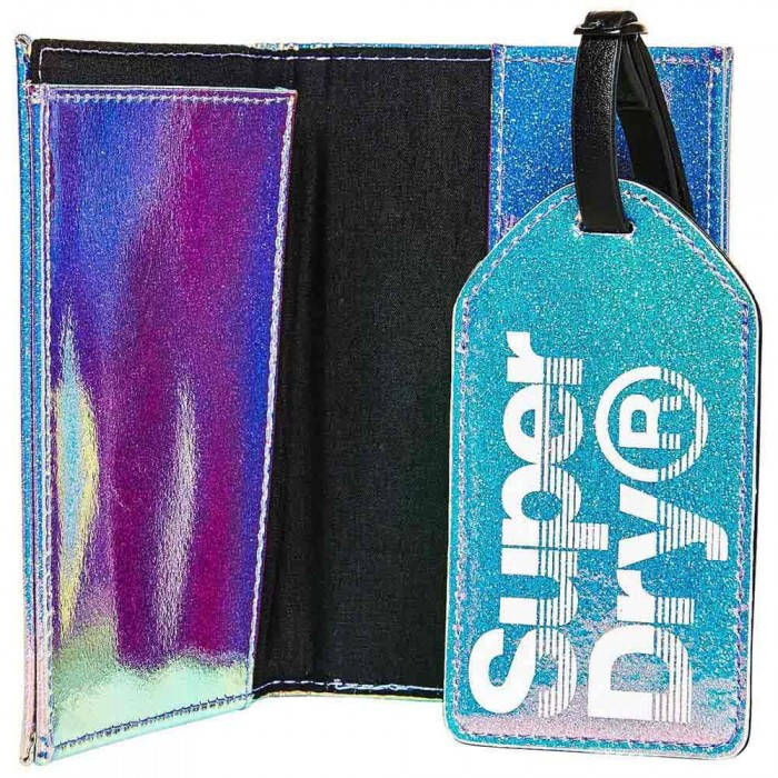 [해외]슈퍼드라이 Passport And Luggage Tag Set 137244418 Blue