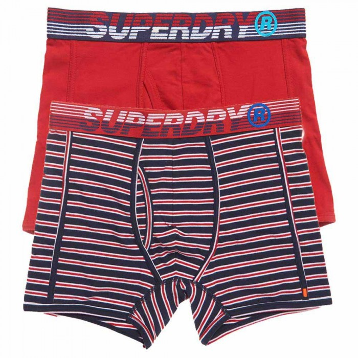 [해외]슈퍼드라이 Speed Sport Double Pack Downhill Red / Downhill Navy Stripe