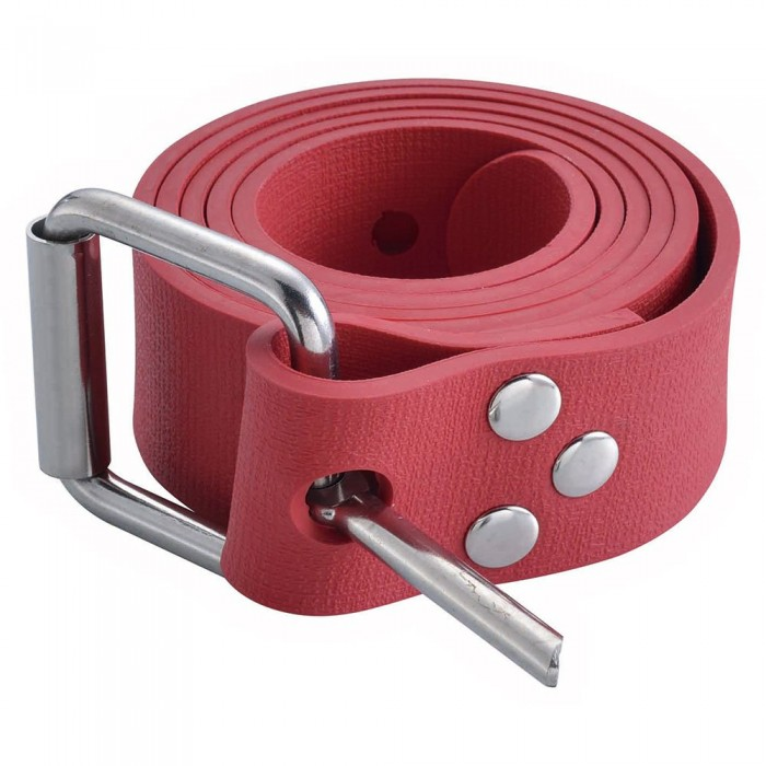 [해외]PROBLUE Rubber Weight Belt Red