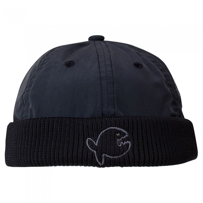 [해외]IQ-UV Cap Skull Fish Black