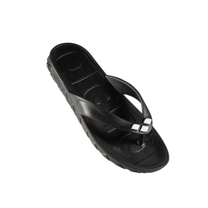 [해외]아레나 Watergrip Thong Black / White