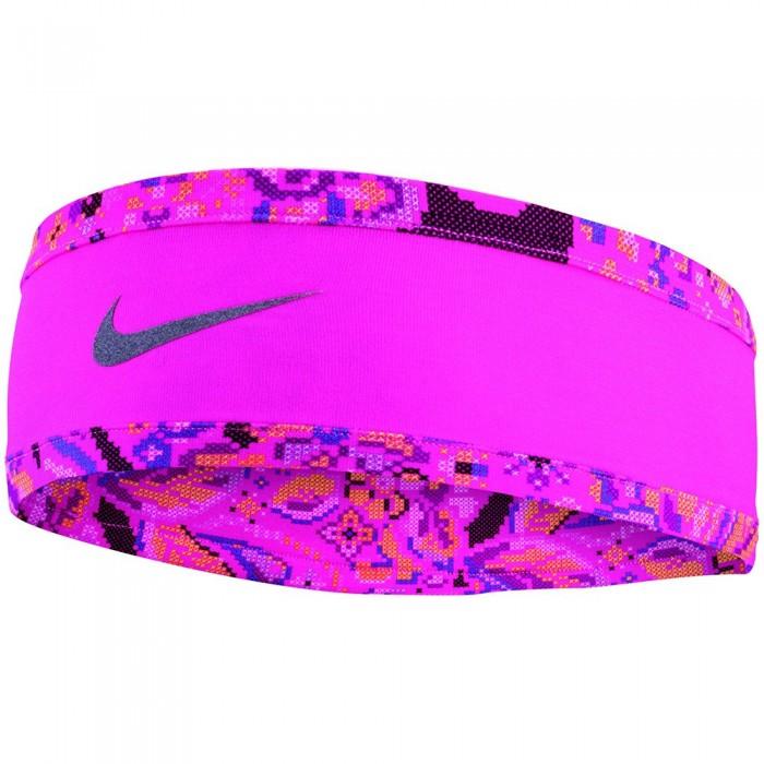 [해외]나이키 ACCESSORIES Run Headband Glove Set 6137272342 Black / Pink / Silver