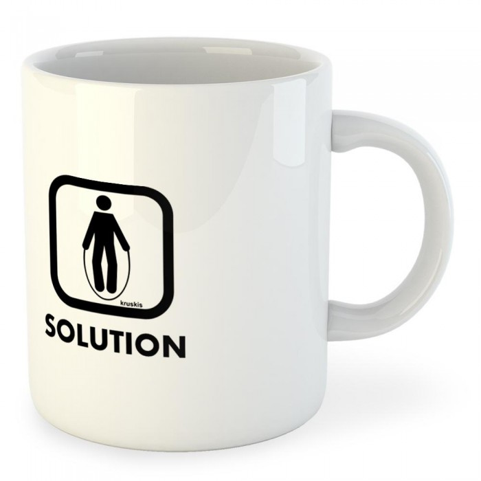 [해외]KRUSKIS Mug Problem Solution Train 7136490303 White