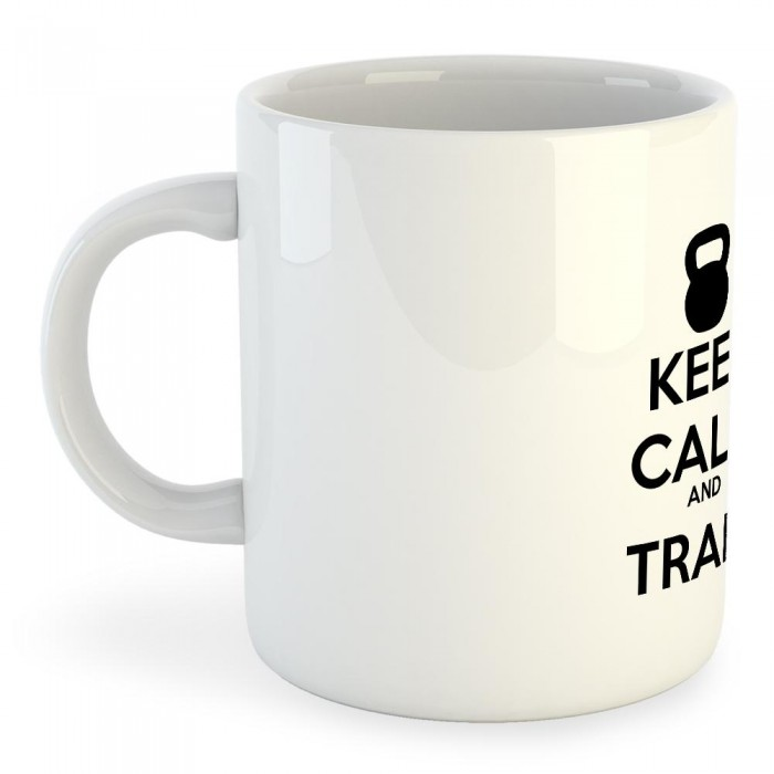 [해외]KRUSKIS Mug Keep Calm And Train 7136490324 White