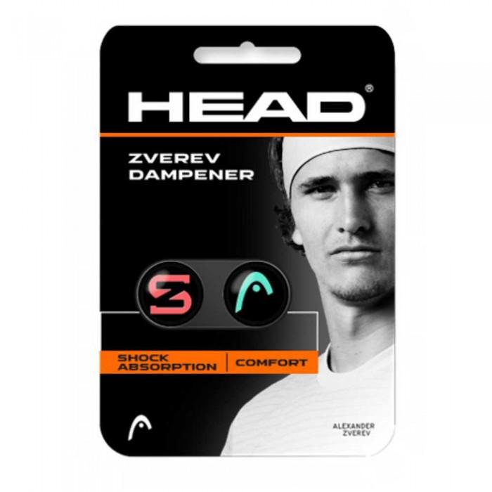 [해외]헤드 RACKET Zverev Tennis Dampeners 2 Units 12137301718 Teal / Hot Lava