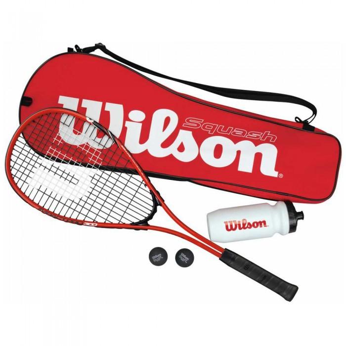 [해외]윌슨 Starter Kit 12137282768 Red / Black
