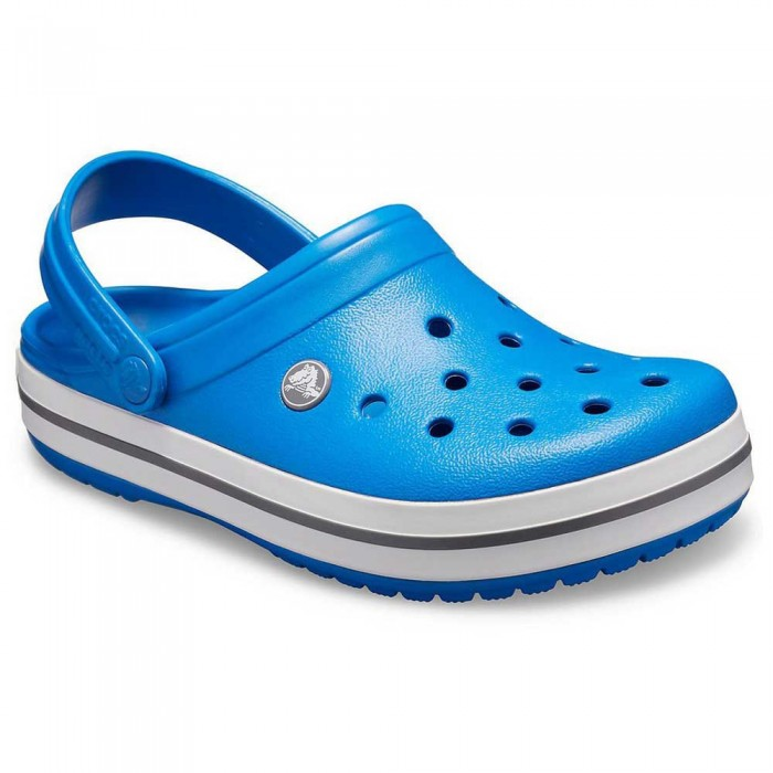[해외]크록스 Crocband 14137164448 Bright Cobalt / Charcoal