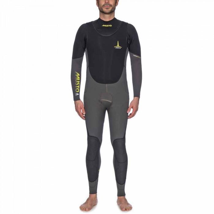 [해외]무스토 Foil TC Impact Wetsuit 137081575 Dark Grey / Black