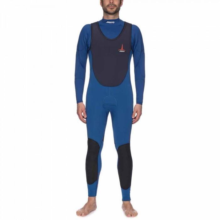 [해외]무스토 Foiling ThermoHOT Impact Wetsuit 137081576 Sky Dive / True Navy
