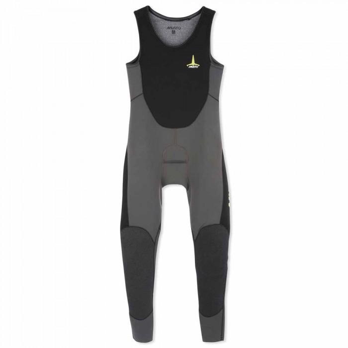 [해외]무스토 Foiling ThermoHOT Impact Wetsuit 137081577 Dark Grey / Black