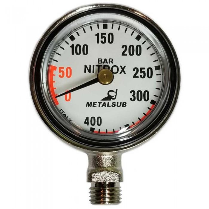 [해외]METALSUB Nitrox Gauge Capsule Diameter 50 mm 10137334310 Silver