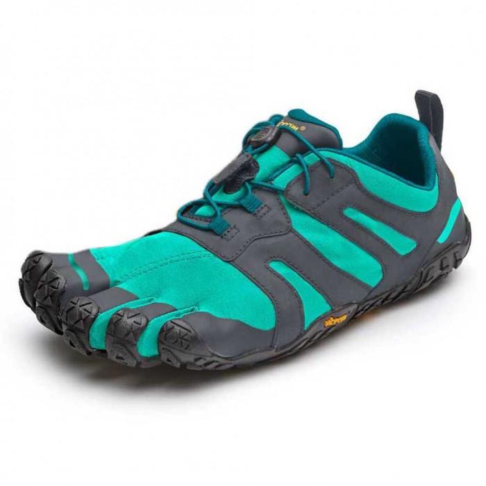 [해외]비브람 FIVEFINGERS V-Trail 2.0 6137314708 Blue / Green
