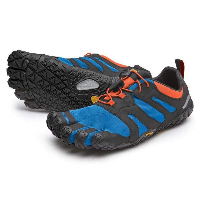 [해외]비브람 FIVEFINGERS V Trail 2.0 6137314702 Blue / Orange