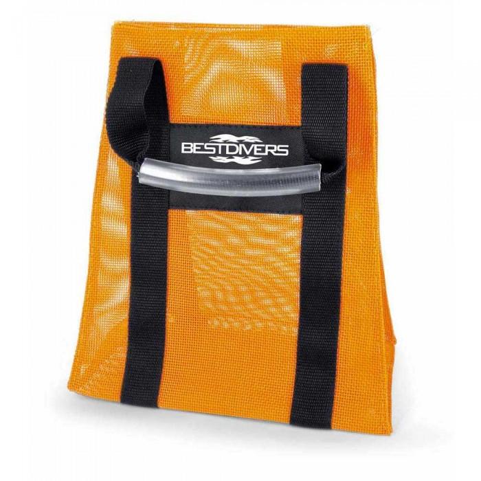 [해외]BEST DIVERS Weight Net Bag Orange 101229515