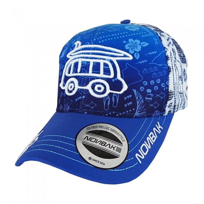 [해외]NONBAK Hawaii Van Cap Trucker 6137204473 Blue
