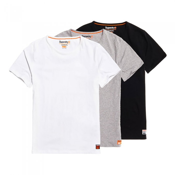 [해외]슈퍼드라이 Laundry Slim Triple Pack Landry Grey Grit / Landry White / Landry Black