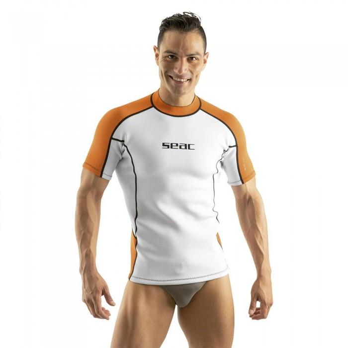 [해외]씨악서브 Undersuit Fit 2 mm White / Orange