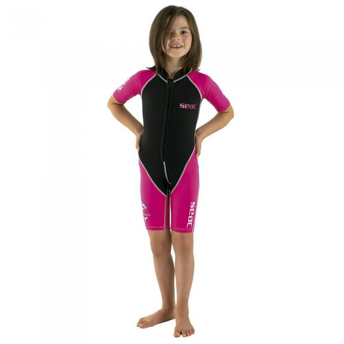 [해외]씨악서브 Shorty Dolphin 1.5 mm Pink / Black