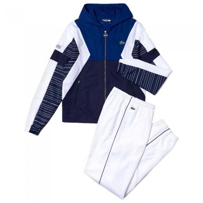 [해외]라코스테 Sport Colorblock Tennis Ocean / Navy Blue / White