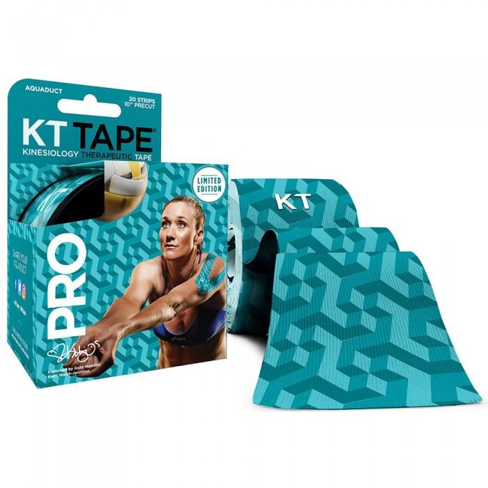 [해외]KT TAPE Pro Synthetic Precut Kinesiology 테이프 Limited 에디션 Aquaduct