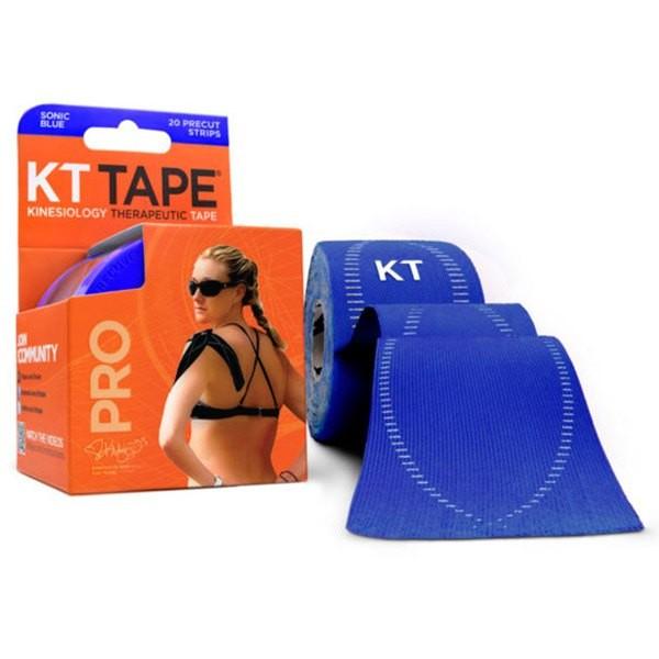 [해외]KT TAPE Pro Synthetic Precut Kinesiology 테이프 Sonic Blue