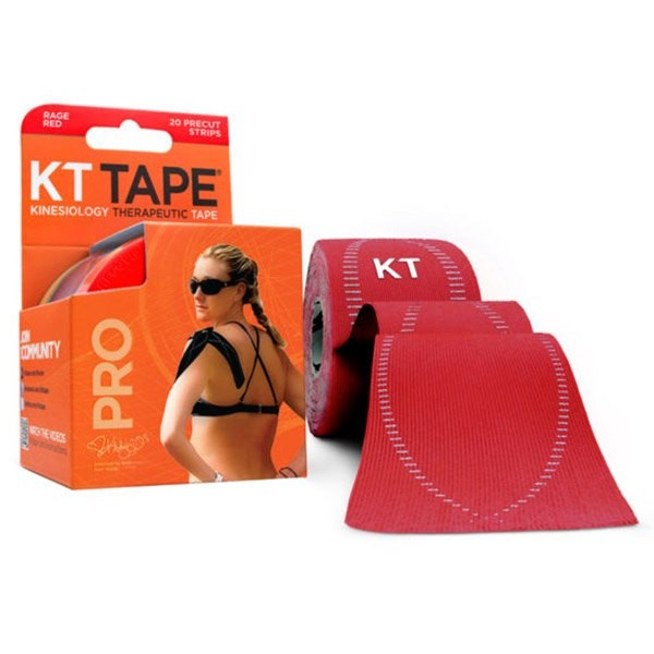 [해외]KT TAPE Pro Synthetic Precut Kinesiology 테이프 Rage Red