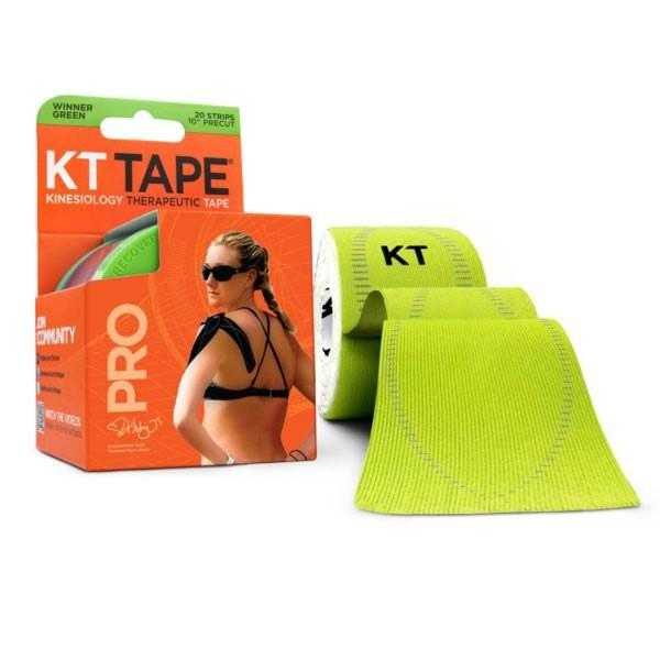 [해외]KT TAPE Pro Synthetic Precut Kinesiology 테이프 Winner Green
