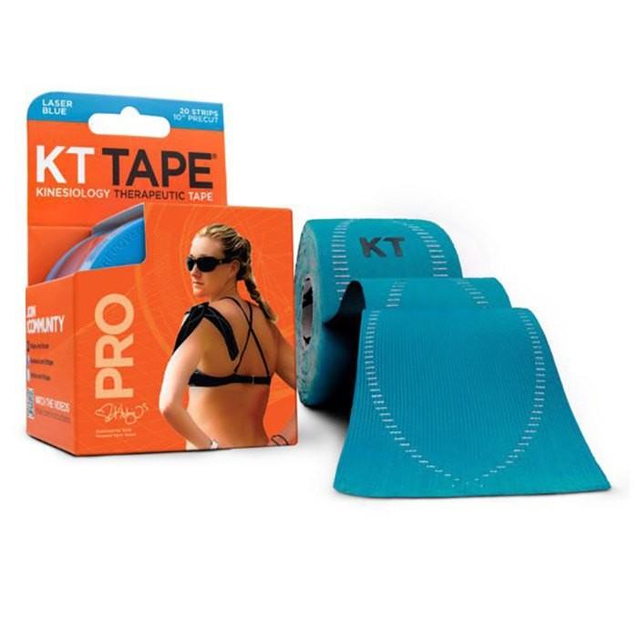 [해외]KT TAPE Pro Synthetic Precut Kinesiology 테이프 Lasser Blue