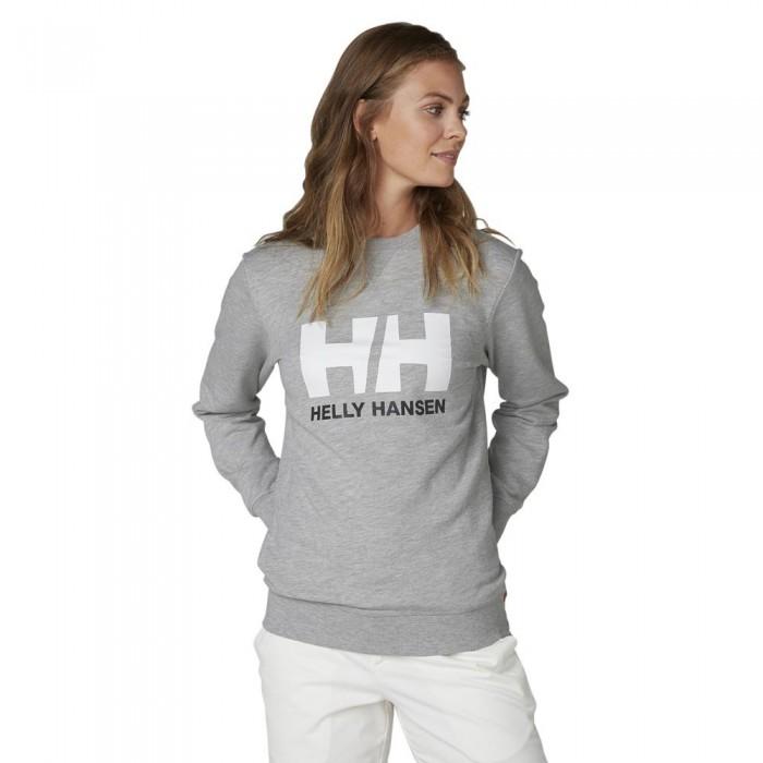 [해외]헬리한센 Logo Crew 137005602 Grey Melange