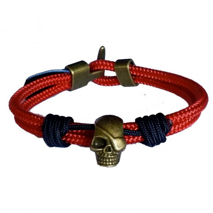 [해외]NAUTIKNOT Mix Skull 136142981 Red / Blue