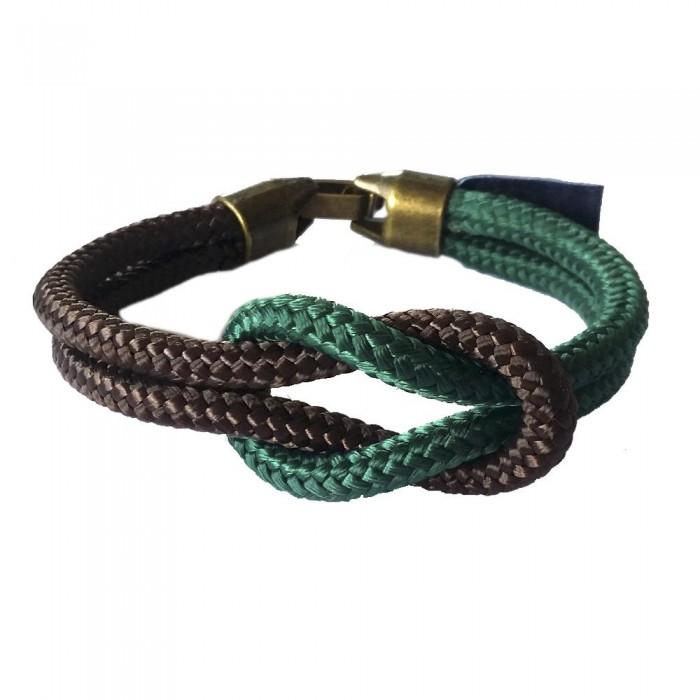 [해외]NAUTIKNOT Square Knot 135959633 Green / Brown