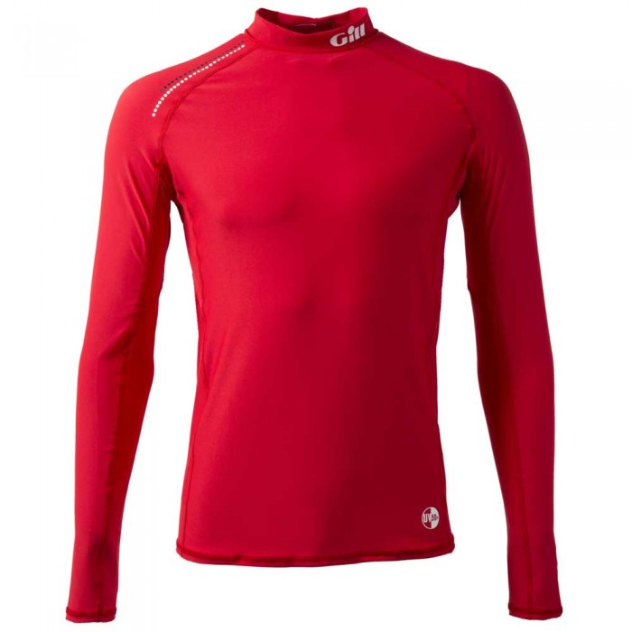 [해외]GILL Pro Rash Vest L/S 136651827 Bright Red