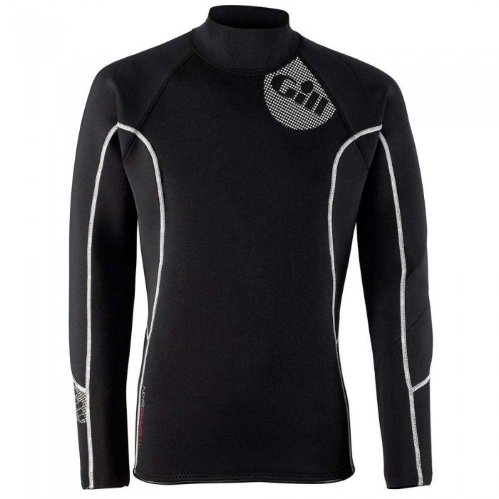 [해외]GILL Thermoskin Top 135896010 Black / Red