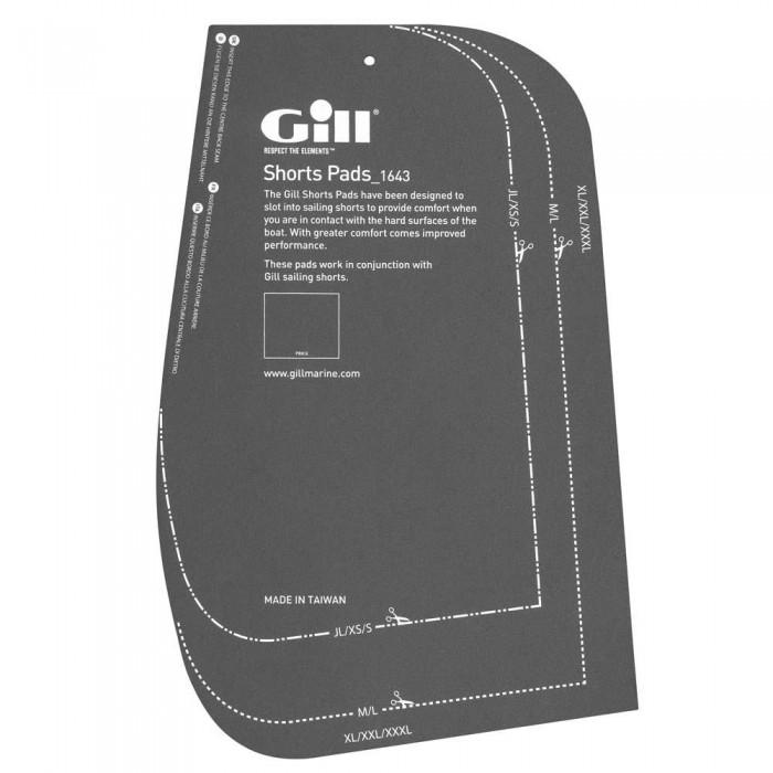 [해외]GILL Shorts Pads 1330576 Grey