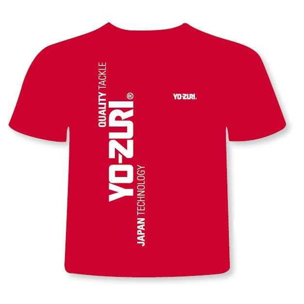 [해외]YO-ZURI T Shirt Red